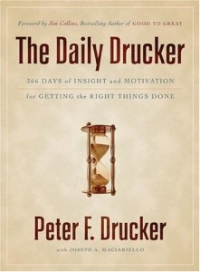 The Daily Drucker by Ernest Chiang