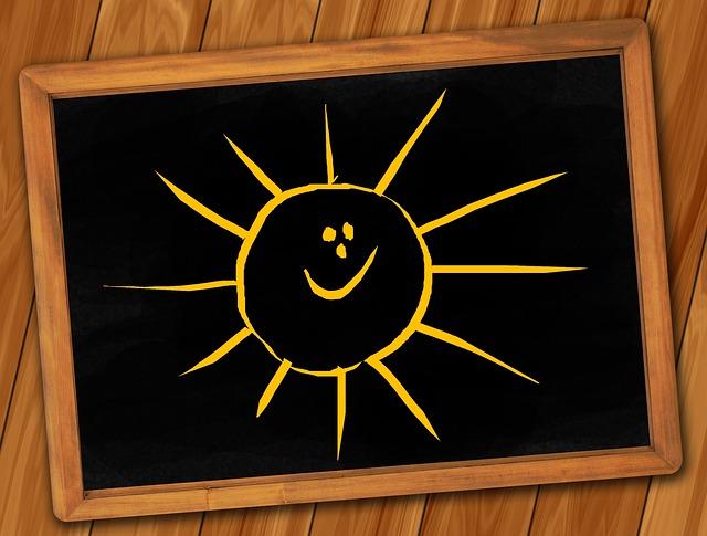 sunshine summertime