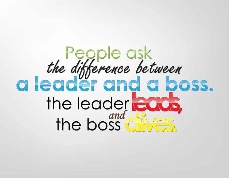 leader boss manager