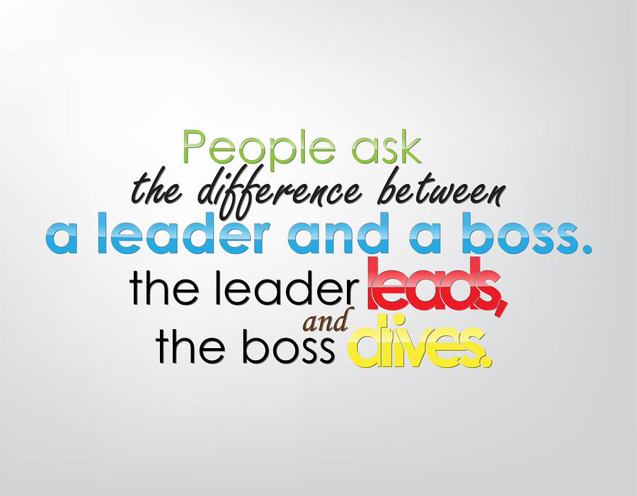 leader boss manager